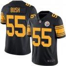 Youth Devin Bush Pittsburgh Steelers 55 boys Jersey black