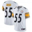 Men's Devin Bush Pittsburgh Steelers #55 Color Rush vapor Jersey white
