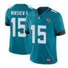 Men's Jacksonville Jaguars #15 Gardner Minshew Color Rush LIMITED Jersey blue