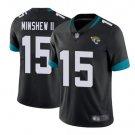 Men's Jacksonville Jaguars #15 Gardner Minshew Color Rush LIMITED Jersey black