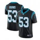 Men's Brian Burns Carolina Panthers #53 color rush black Jersey