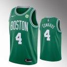 Men Boston Celtics #4 Carsen Edwards Jersey green