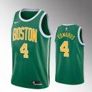 Youth Boston Celtics #4 Carsen Edwards earned Jersey green