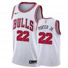 Men's Chicago Bulls #22 Otto Porter Jr. Association Jersey White