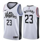 Men's Lou Williams Los Angeles Clippers city jersey white