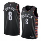 Men & Youth Spencer Dinwiddie Brooklyn Nets jersey city edition