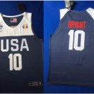 Men's USA Team 2019 Basketball World Cup Kobe Bryant Navy Jersey