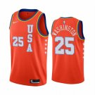 Men's 2020 Rising Star USA Team Kendrick Nunn #25 Orange Jersey