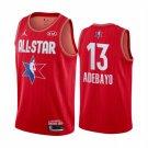 Men's 2020 All-Star Game Bam Adebayo #13 Red Jersey