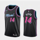 Men's and Youth Miami Heat #14 Tyler Herro City Edition Jersey Black