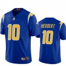 Youth Justin Herbert Los angeles Chargers color rush jersey blue