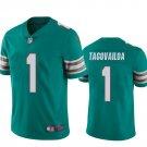 Men's / Youth Tua Tagovailoa Miami Dolphins color rush jersey aqua