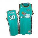 Mens Scottie Pippen Chicago Bulls 1996 all star jersey green
