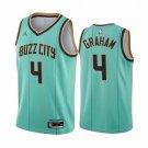 Men's / Youth Charlotte Hornets Devonte' Graham 2021 City Jersey Green