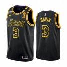 Men / Youth Anthony Davis Lakers finals champion jersey black