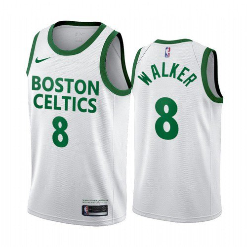 2021 Men's / Youth Kemba Walker Boston Celtics City Jersey White