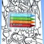 Target Collectible Gift Card - Happy Birthday Crayons 1049