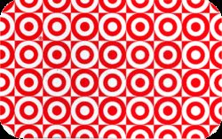 Target Collectible Gift Card - Merchandise Return - Tiled Bullseye 0352 - USED