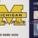 American Express MBNA Promotional Credit Card - University of Michigan - FX-AAGN-0805
