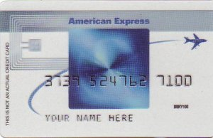 American Express Blue Cash Frequent Flyer Promotional Credit Card BSKY105