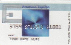 American Express Blue Cash Promotional Credit Card B0207-REV