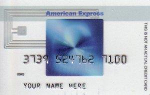 American Express Blue Cash Promotional Credit Card B0605
