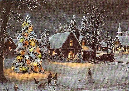 Christmas Card Promotional Print - O Christmas Tree H204