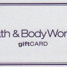 Bath & Body Works Collectible Gift Card - $10 Classic Silver Sparkle 08195512-0 - USED