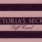 Victoria's Secret Collectible Gift Card - Hot Pink Metallic Stripe 4206 - USED