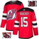 Reid Boucher #15 New Jersey Devils Player Men's Jersey Red S M L XL XXL XXXL