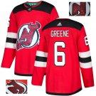 Andy Greene #6 New Jersey Devils Player Men's Jersey Red S M L XL XXL XXXL