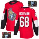 Mike Hoffman #68 Ottawa Senators Player Men's Jersey Red S M L XL XXL XXXL