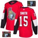 Zack Smith #15 Ottawa Senators Player Men's Jersey Red S M L XL XXL XXXL