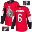 Chris Wideman #6 Ottawa Senators Player Men's Jersey Red S M L XL XXL XXXL