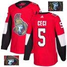 Cody Ceci #5 Ottawa Senators Player Men's Jersey Red S M L XL XXL XXXL