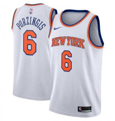 Kristaps Porzingis #6 New York Knicks