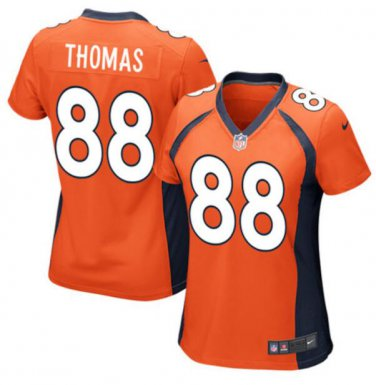 wholesale dealer 48ab5 a9d0c Demaryius Thomas #88 Denver Broncos Game Player Jersey ...