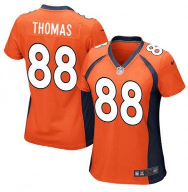 wholesale dealer f44a4 1b64f Demaryius Thomas #88 Denver Broncos Game Player Jersey ...