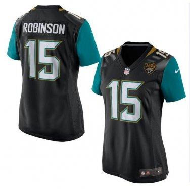 4992eab1 Allen Robinson #15 Jacksonville Jaguars Game Player Jersey Women's Black