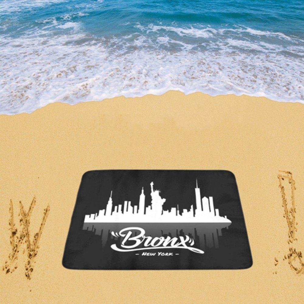 "Bronx New York Beach Mat 78""x 60"""