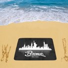 "Bronx New York Beach Mat 78""x 60"""