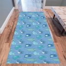 Cute Narwhal Pattern Area Rug 10'x3'3''