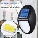 Solar Power 10 LED Motion Sensor Wall Light Outdoor Garden Waterproof Lamp