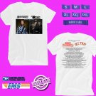 CONCERT 2018 JOHN FOGERTY AND ZZ TOP:BLUES AND BAYOUS WHITE TEE DATES CODE EP01