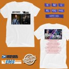 CONCERT 2018 JOHN FOGERTY AND ZZ TOP:BLUES AND BAYOUS WHITE TEE DATES CODE EP02