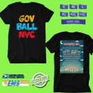 CONCERT 2018 GOVERNORS BALL FESTIVAL ON JUNE BLACK TEE DATES CODE EP01