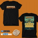 CONCERT 2018 BONANZA CAMPOUT AND MUSIC FESTIVAL ON JUNE BLACK TEE DATES CODE EP01