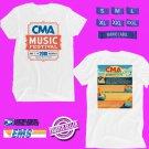 CONCERT 2018  CMA FESTIVAL ON JUNE WHITE TEE DATES CODE EP01