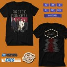 CONCERT 2018 ARCTIC MONKEYS LIVE BLACK TEE DATES CODE EP02