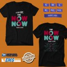 CONCERT 2018 GORILLAZ THE NOW NOW TOUR BLACK TEE DATES CODE EP01